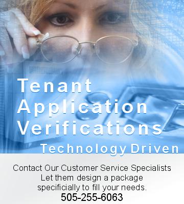 Tenant Application Verifications